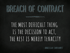 Charleston Breach of Contract Attorney