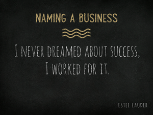 Naming-a-Business
