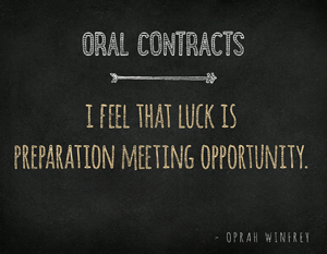 Oral-Contract