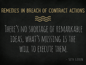 Remedies-in-Breach-of-Contract-Actions