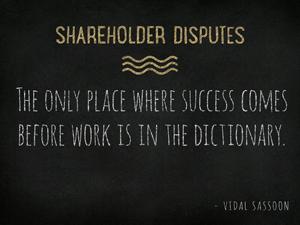Shareholder-Disputes