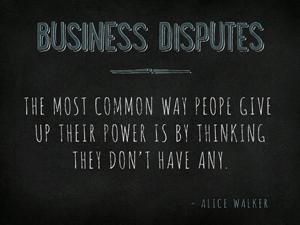 Charleston Business Dispute