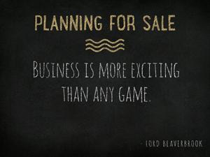 Planning-for-Sale