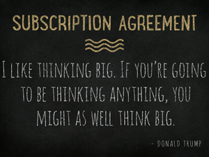 Subscription-Agreement