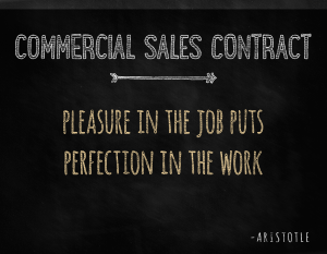 Charleston Sales Contract | Charleston Commercial Sales Contract