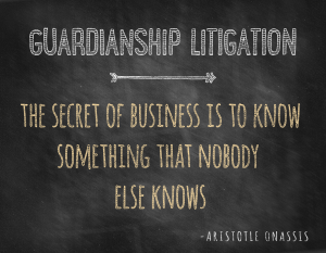 Charleston Estate Planning | Guardianship Litigation