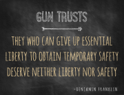 Charleston Gun Trusts or Firearm Trusts