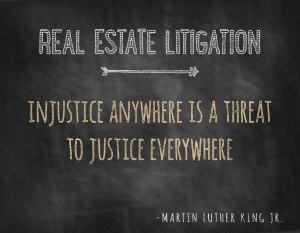 Charleston Real Estate Litigation | South Carolina Real Estate Litigation