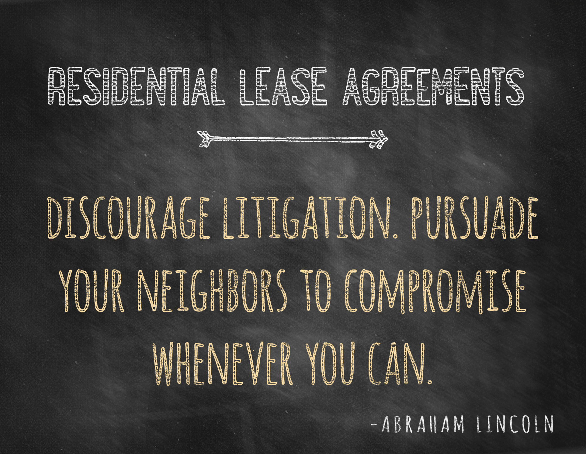 Residential Lease Agreement Charleston Real Estate Attorney