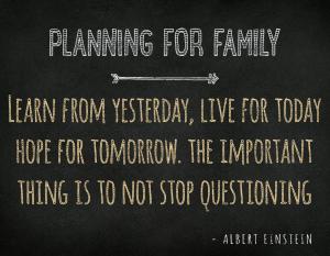Estate Planning for Family